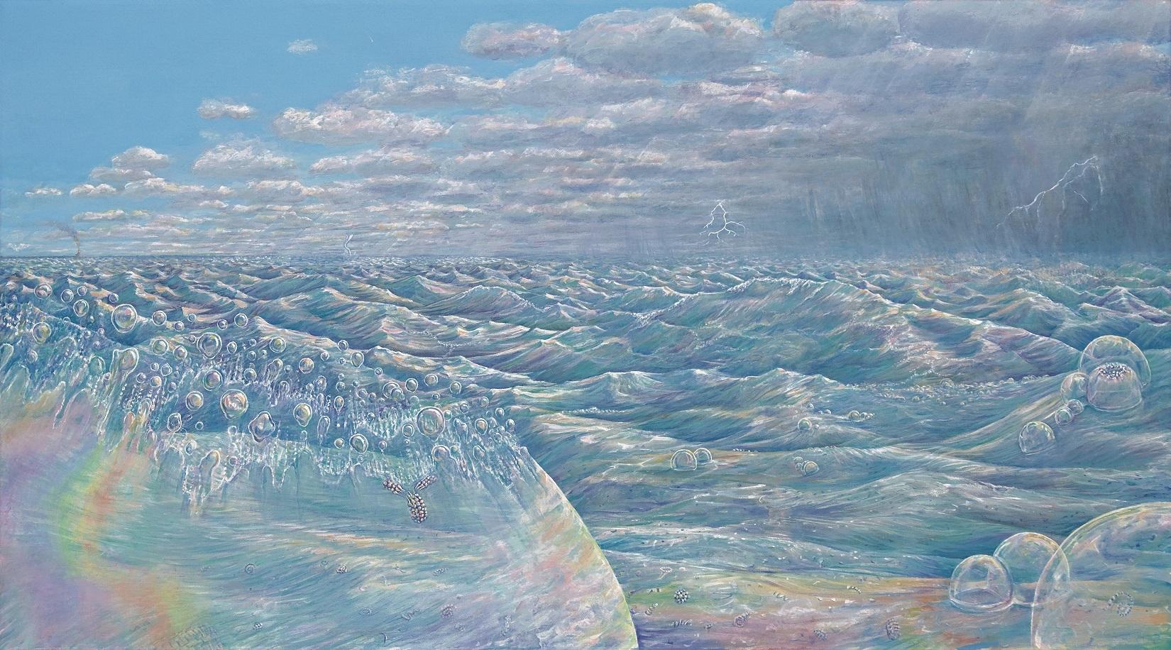 An Inevitable Miracle - print on canvas, 18 x 32