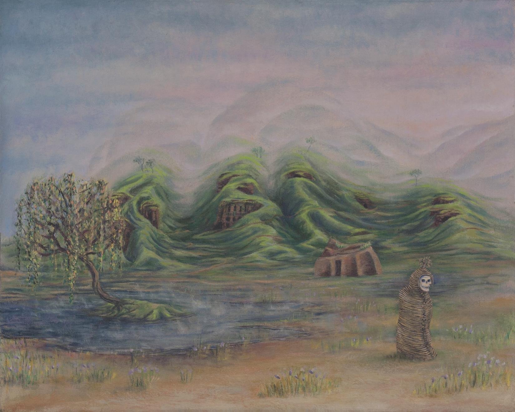 Bolivia - oil on canvas panel, 16 x 20