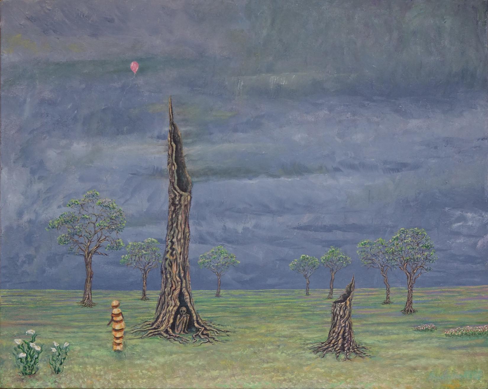 "oil on canvas - 16"" x 20"""