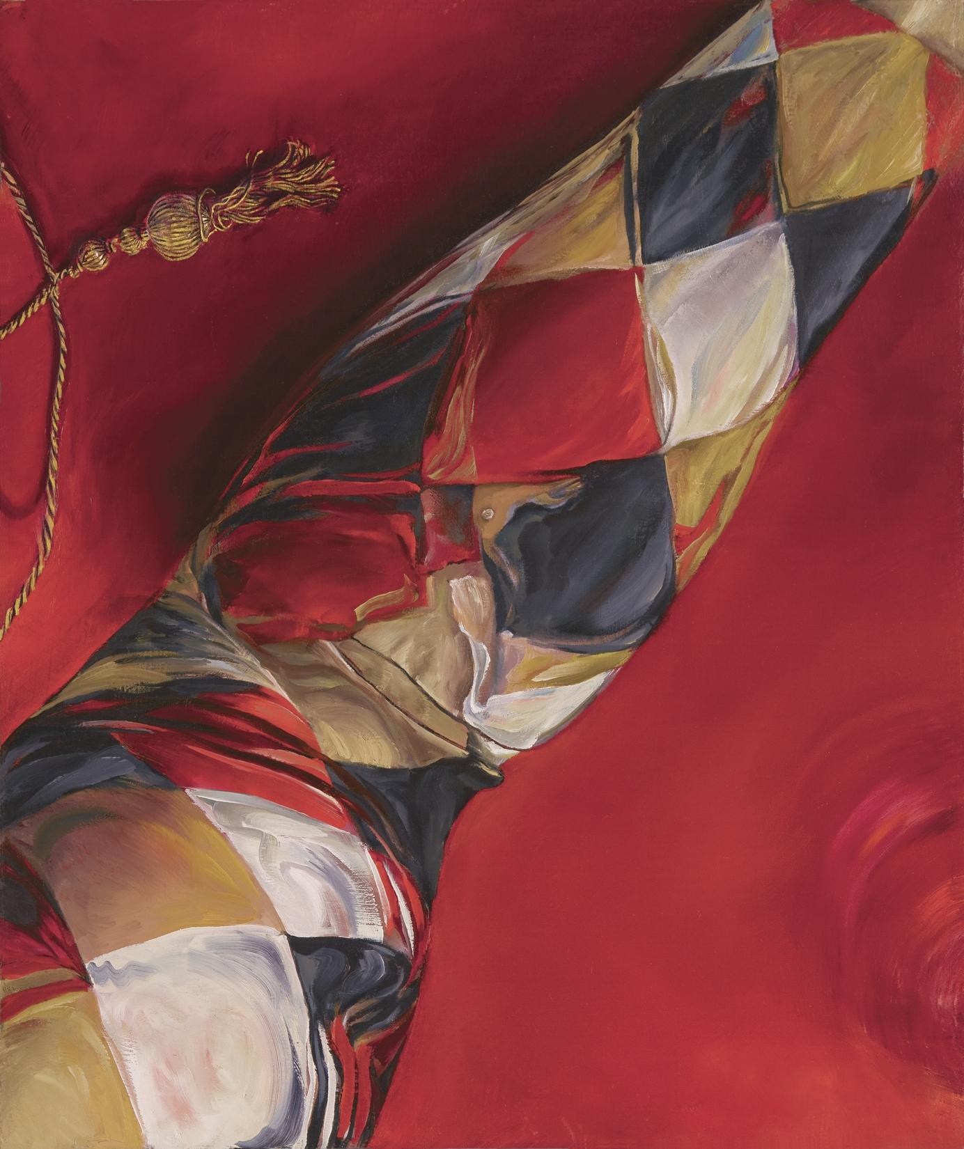 Limbic - print on canvas, 20x16