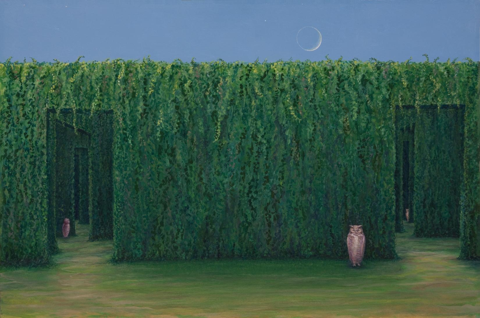 Twilight - print on canvas